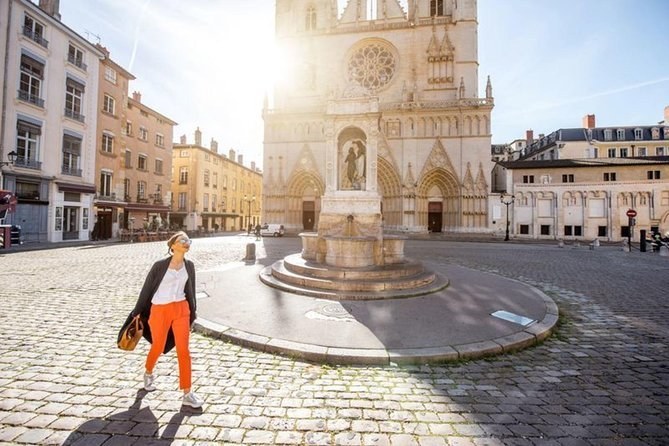 Visite à pied du Lyon médiéval et de la Basilique Notre Dame de Fouviere