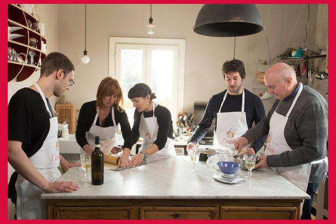 Private Cooking Class with Wine Tasting in a Local Home in Civitavecchia