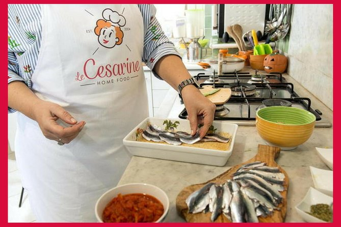 Private cooking class at a Cesarina's home with tasting in Modica