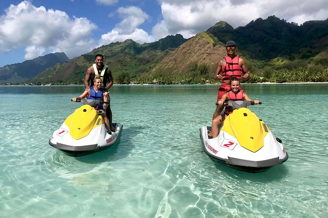 jet ski moorea private tour