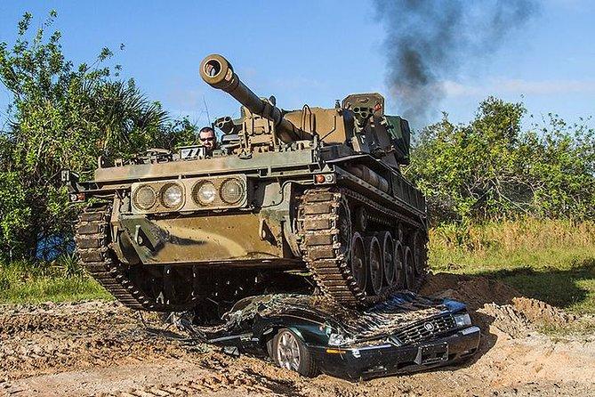 Military Tank Driving at Tank America