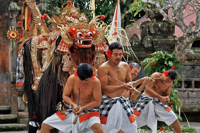Barong dance and workshop tour