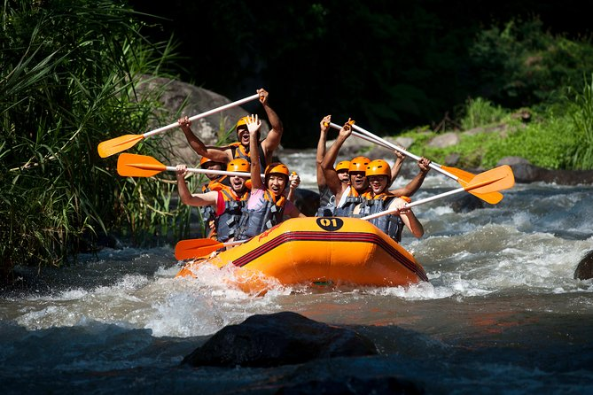 Rafting And Tukad Cepung Waterfall Package Tour