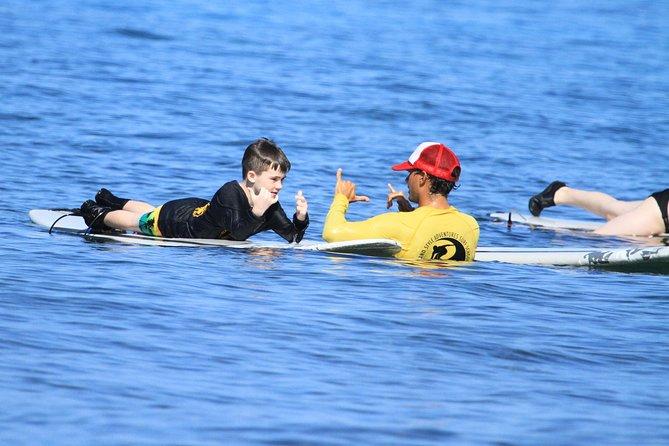 Semi-Private Surf Lesson at Ka'anapali Beach