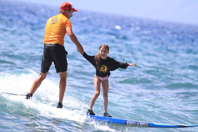 Private Surf Lesson at Ka'anapali Beach