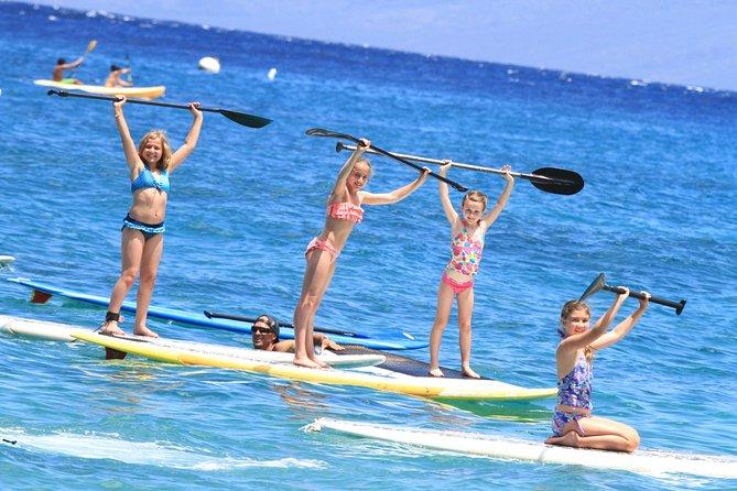 Stand-Up Paddle Board Lesson at Ka'anapali Beach
