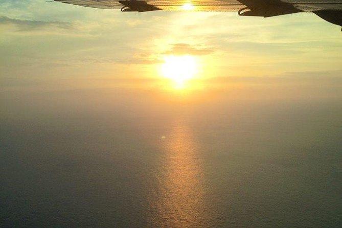 Big Island Sunset Flight from Kona