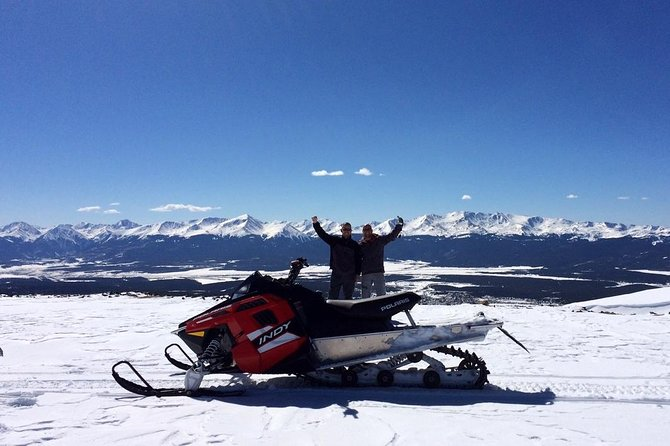 High Country Snowmobile Tours: Birdseye Action!