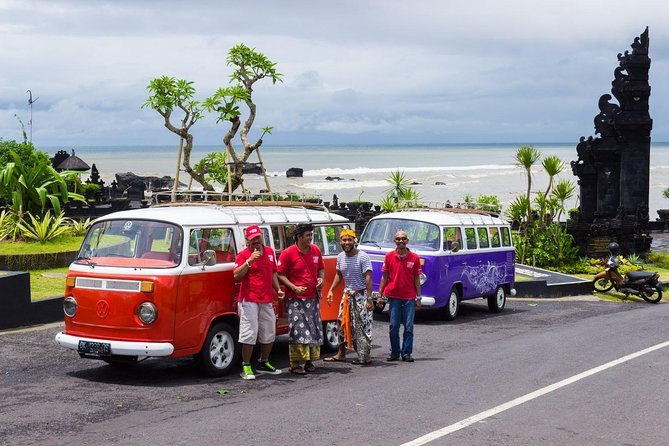 Bali Beach and Bar Hopping Tour by Custom 1980 VW Kombi Bus