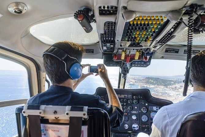 Barcelona's Coastline Helicopter Flight with Optional Pick-up and Drop-off