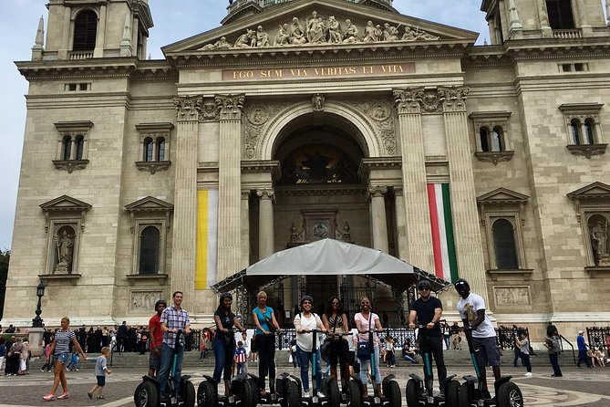 One hour morning city tour in Budapest City center with Segway style