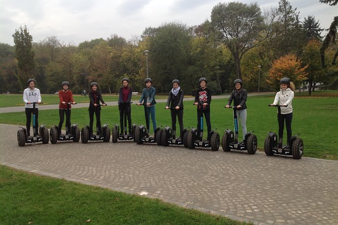 City tour in Margaret Island with Segway style