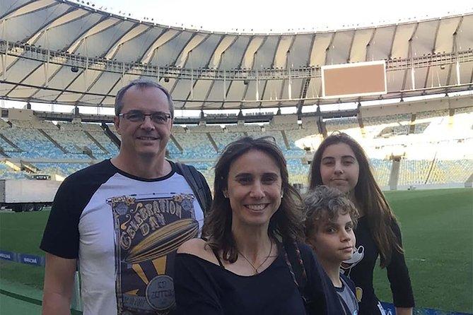 Rio de janeiro visit the soccer temple the Maracana Stadium