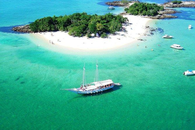 Combo Angra dos Reis plus Buzios Tour and Schooner Cruise
