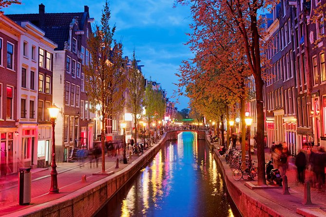 Guided tour of the Red Light District of Amsterdam