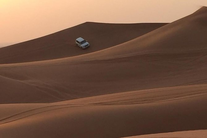 Desert Safari 4x4 With BBQ Dinner, Camel Ride, Belly Dancing, Hotel Transfers