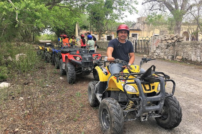 Progreso Misnebalam Ghost Town ATV excursion and Break at Silcer Beach Club