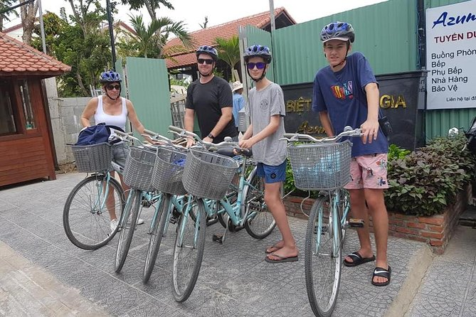 VISIT THANH HA POTTERY Village & CAM KIM ISLAND with BICYCLE PRIVATE TOUR
