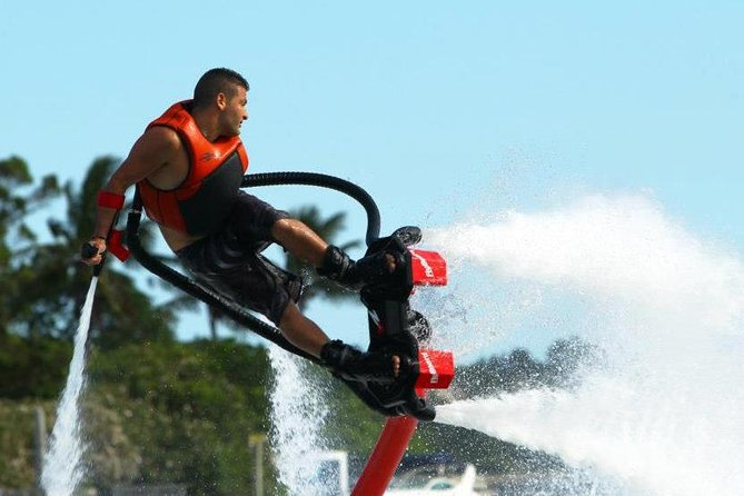 San Antonio Bay Flyboard Rental in Ibiza