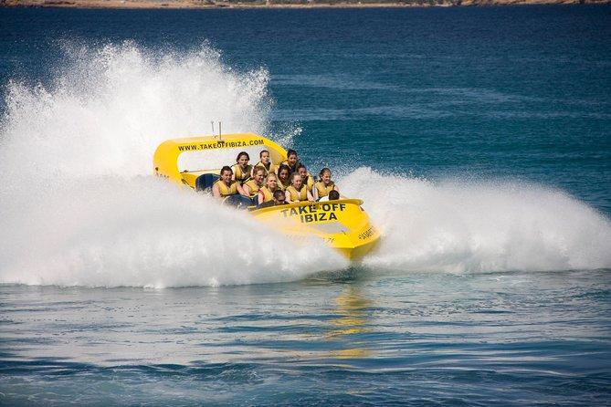 Experiência de Jet boat 360 em Ibiza