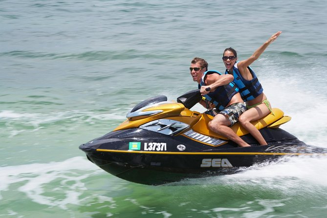 Guided San Antonio Bay Jet Ski Experience in Ibiza
