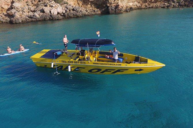 Explore Ibiza's beautiful coastline