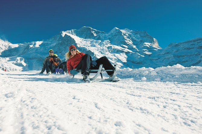 Snowshoe and Sled Adventure in the Swiss Alps from Interlaken