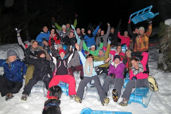 Night Sled Ride with Optional Fondue from Interlaken