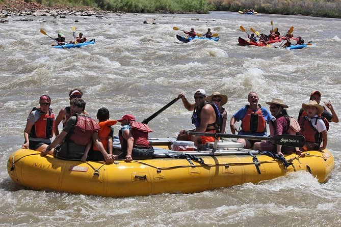 Fisher Towers Rafting dagtrip vanuit Moab