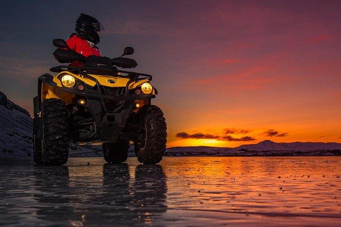 2hr Midnight Sun ATV Adventure from Reykjavik