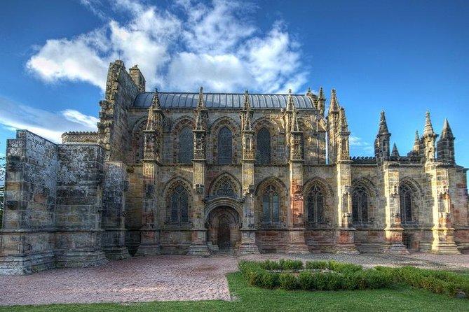 Rosslyn Chapel, Scottish Borders & Glenkinchie Distillery from Edinburgh