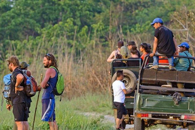 2 Nächte 3 Tage Chitwan Dschungel Safari