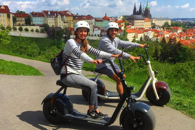 Grand city tour on Scrooser in Prague