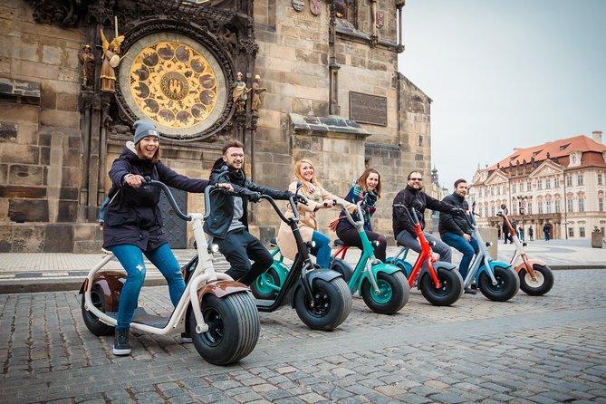 Prague Small-Group Tour on a Fat Tire E-Scooter with Guide