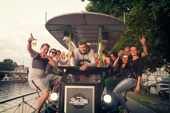 Prague: 2-Hour Beer Bike tour