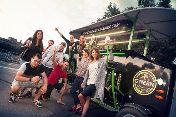 Prague: 2-Hour Beer Bike tour