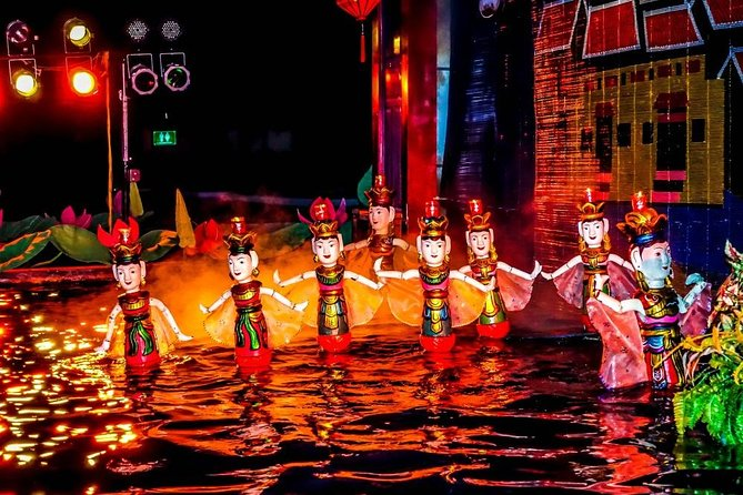 Hanoi Street Food Walking Tour and Water Puppet Show