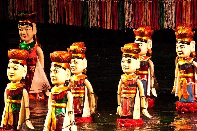 Private Evening Cyclo Tour with Water Puppet Show