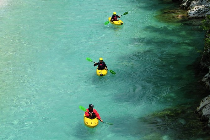 1 day KAYAK COURSE on Soča river, for beginners