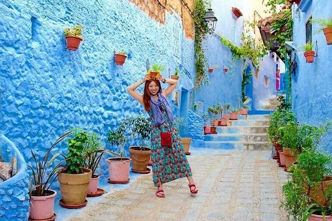 Volubilis, Moulay Idriss, Meknes, and Chefchaouen 2-Day Tour