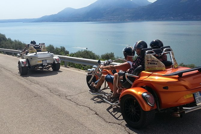 Lake Garda: 2-Hour Guided Trike Tour (1 traveler + up to 2 persons free)