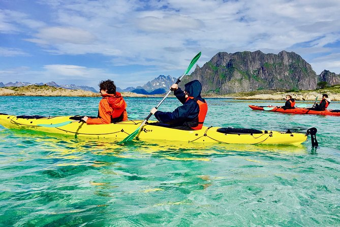 Trollfjord and Wildlife Cruise with Guided Kayak