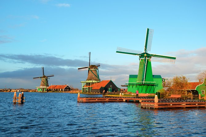 Amsterdam Super Saver: Zaanse Schans Half-Day Trip and A'DAM Lookout