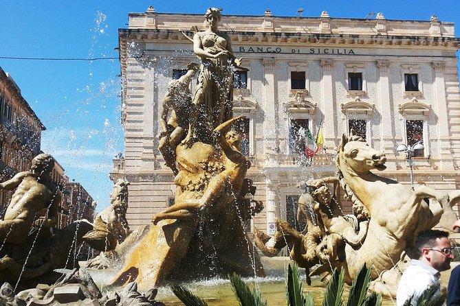 Syracuse, Ortigia, Noto & panoramic tour of Catania