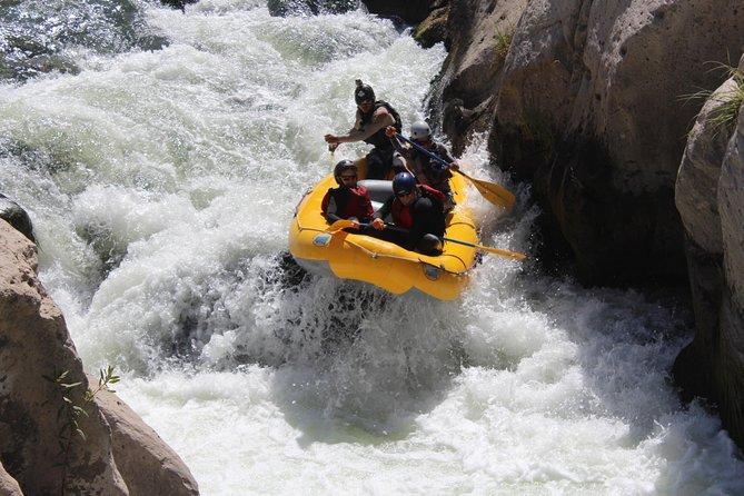 Excursión de rafting por el río Chili
