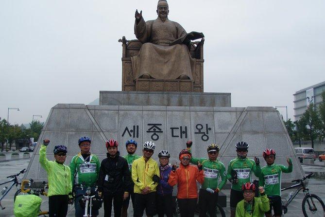 自転車と徒歩で巡るソウル市内観光