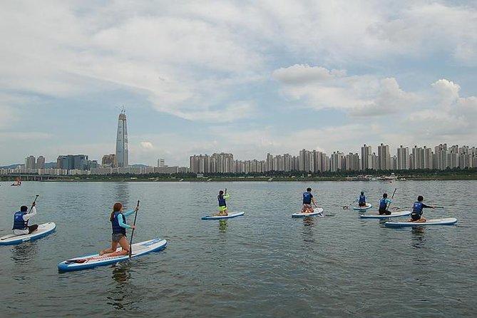 漢江のパドルボードボードレッスンとツアー