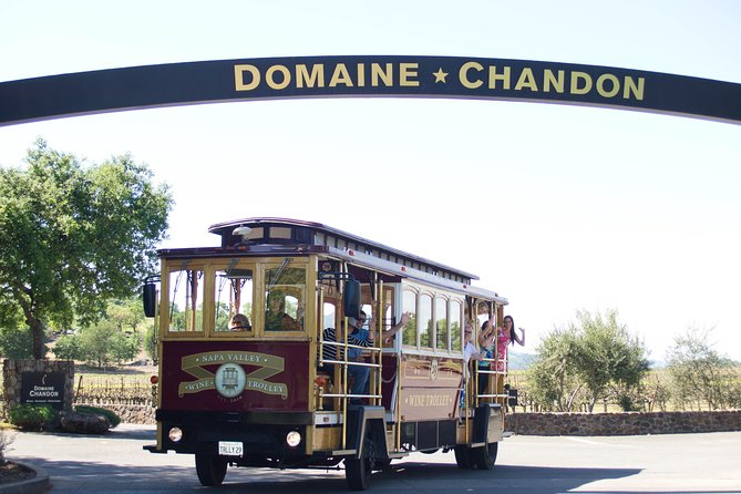 Napa Valley Wine Trolley Tour met lunch