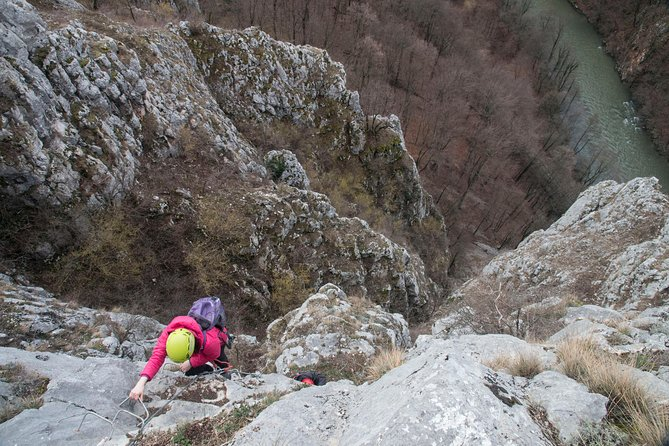 Via ferrata in Fast River Gorges (Vadu Crisului)