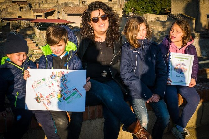 Herculaneum Private Tour for Families from Sorrento